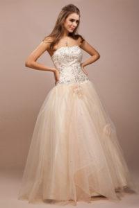 princesse-robe-pour-fiancailles-longue-bustier-orne-de-strass-appliquee-fleurs-a-la-main