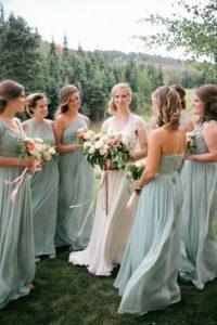 robe-verte-elegante-pour-mariage