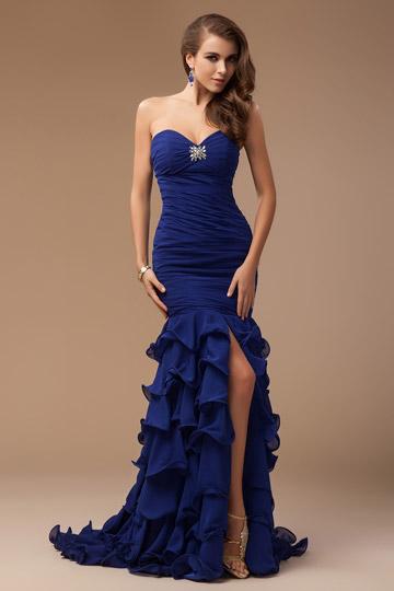 Robe bleue blog officiel de for Robe bleue royale pour mariage