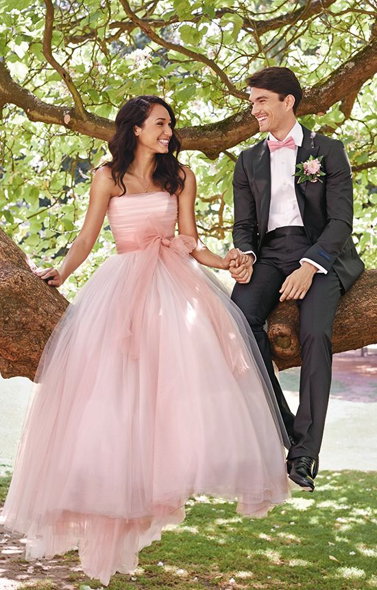 robe-ceremonie-rose-bustier-pour-mariage