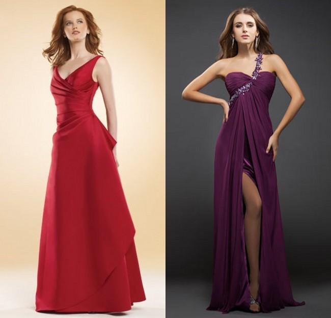 robe-de-fete-longue-rouge-violet-pas-cher
