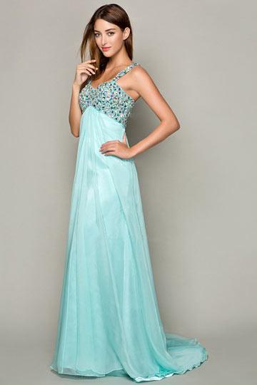 robe-de-soiree-longue-bleue-avec-bretelle-orne-de-strass-empire