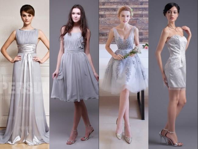 Les couleurs tendances pour une belle parure de demoiselle for Robes pour aller au mariage