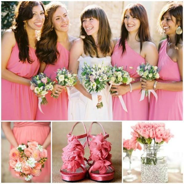 mariage-en-chic-rose-fraise