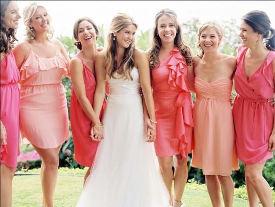 rose-corail-vintage-robe-temoin-mariage