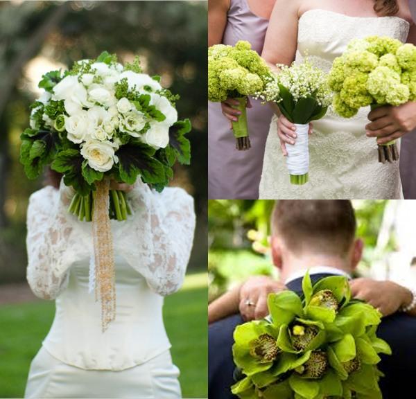 bouquets-de-mariage-vert