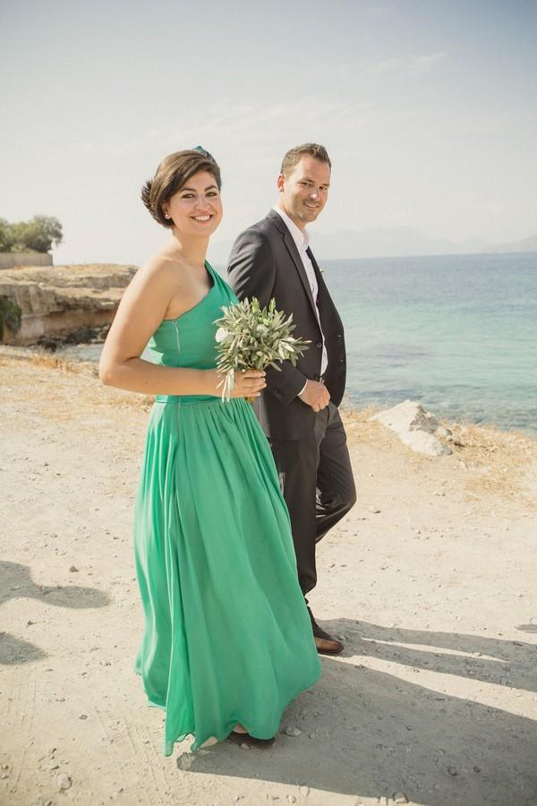 robe-verte-longue-asymetrique-mousseline-pour-mariage