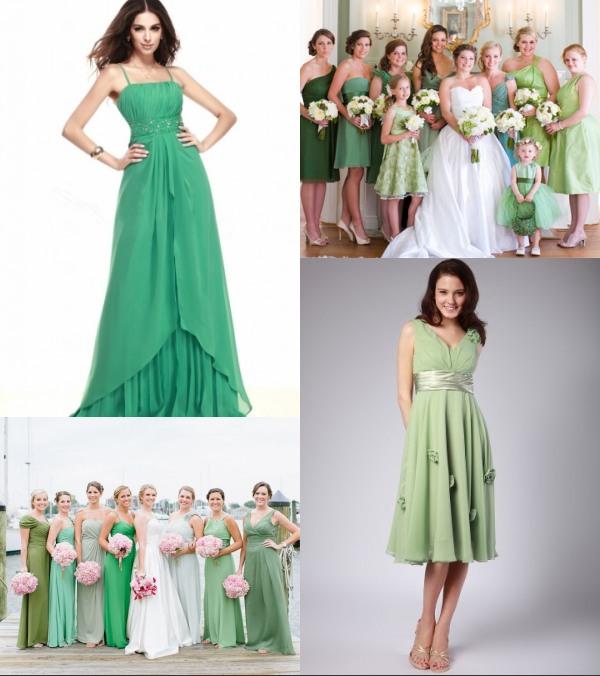 inspiration-robes-demoiselles-dhonneur-en-vert-pour-mariage-2017