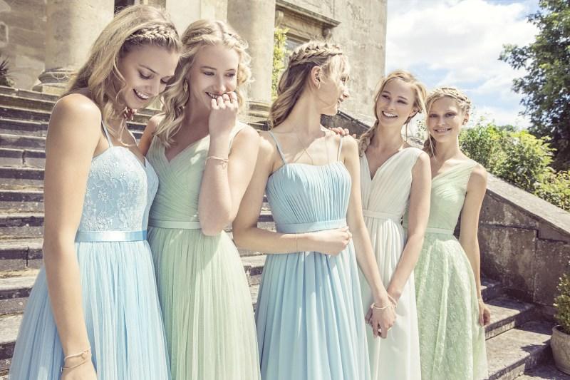 Bonnes idées de disparités pour les robes demoiselle d'honneur pastel