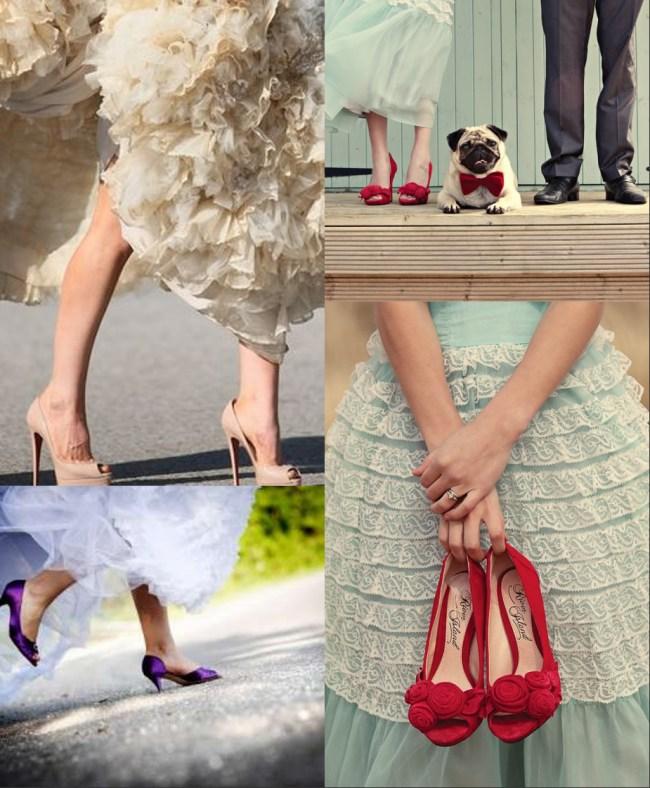 Escarpins du mariage
