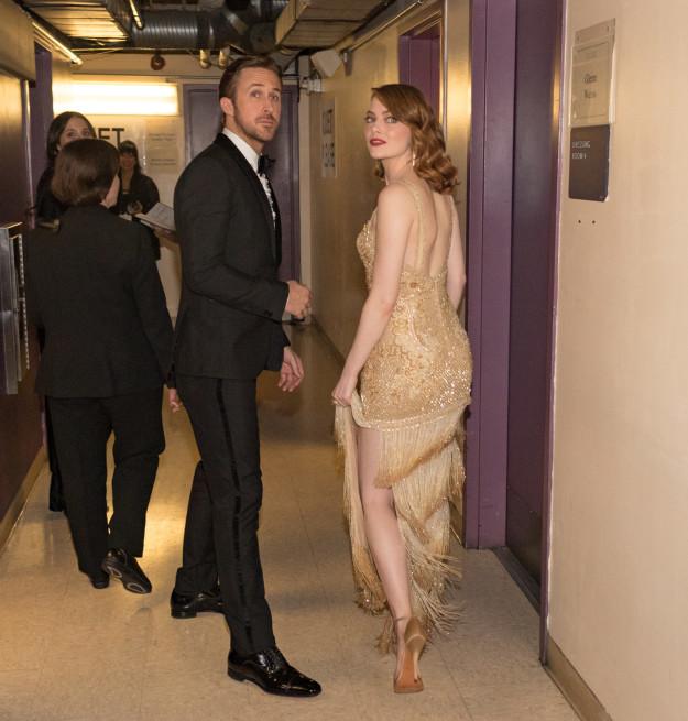 Ryan Gosling et Emma Stone oscars 2017