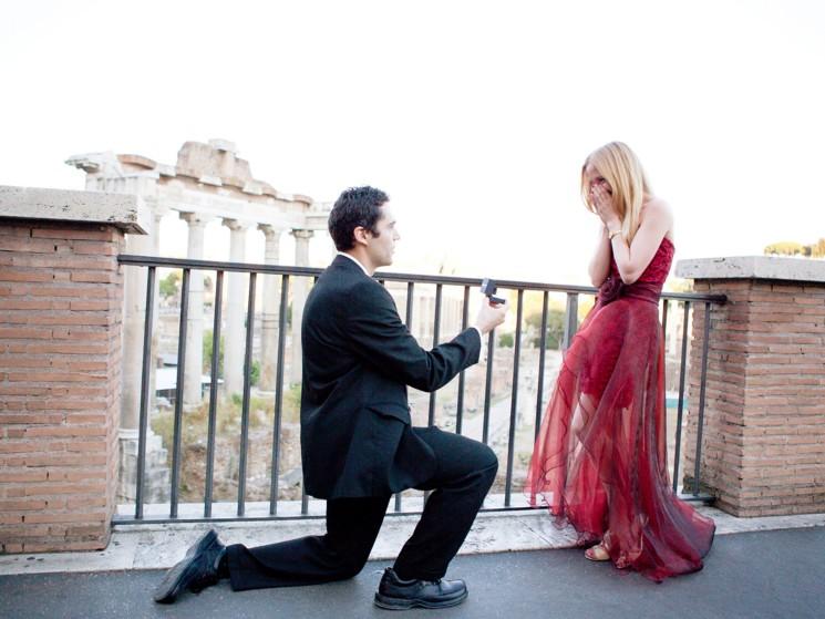 proposition surprise pour un mariage