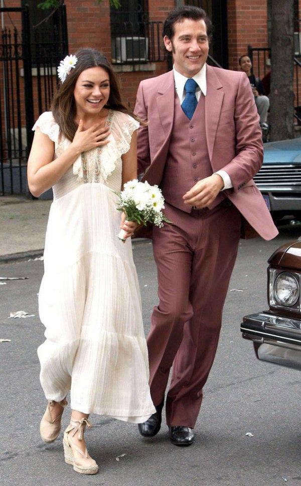 Mariage Mila Kunis & Clive Owen dans Film 'Blood Ties'