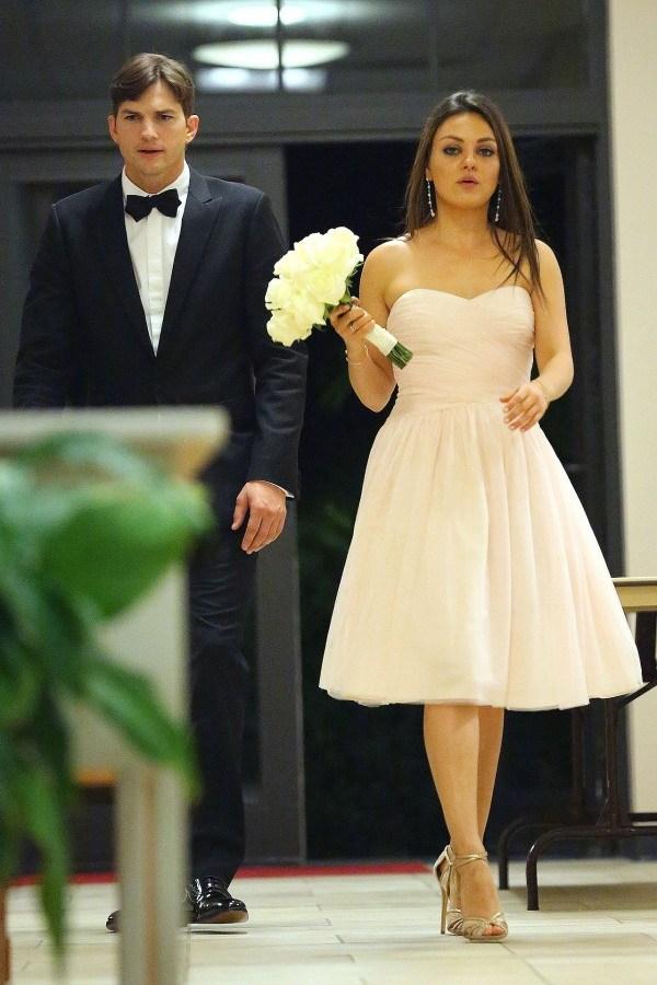 Mila Kunis et Ashton Kutcher pour un mariage