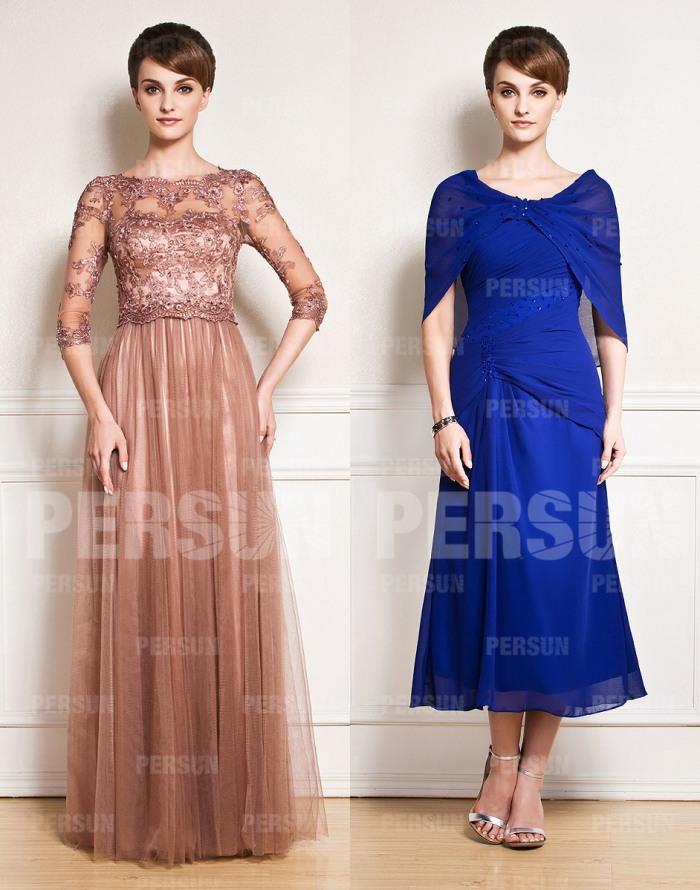 Robes mère du marié style élégant et glamour