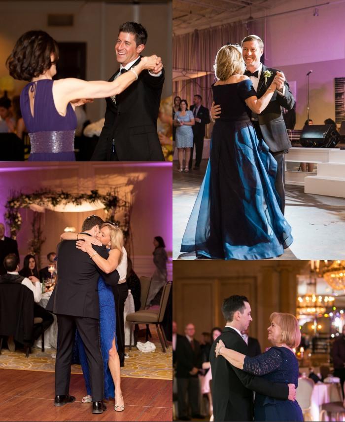 danse de marié et mère du marié