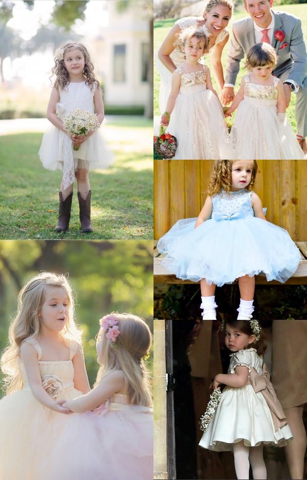 Robes cortège pour enfant