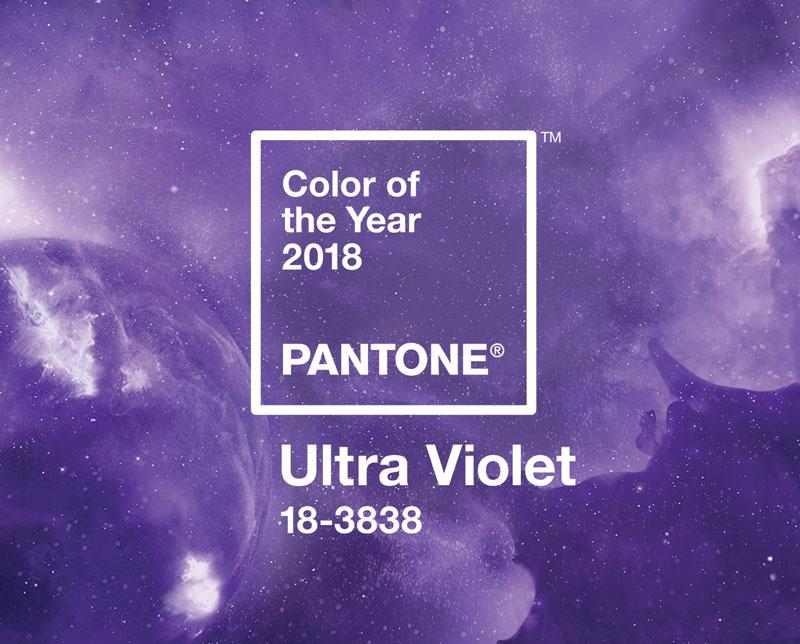 Couleur de l'année 2018 - Ultra Violet